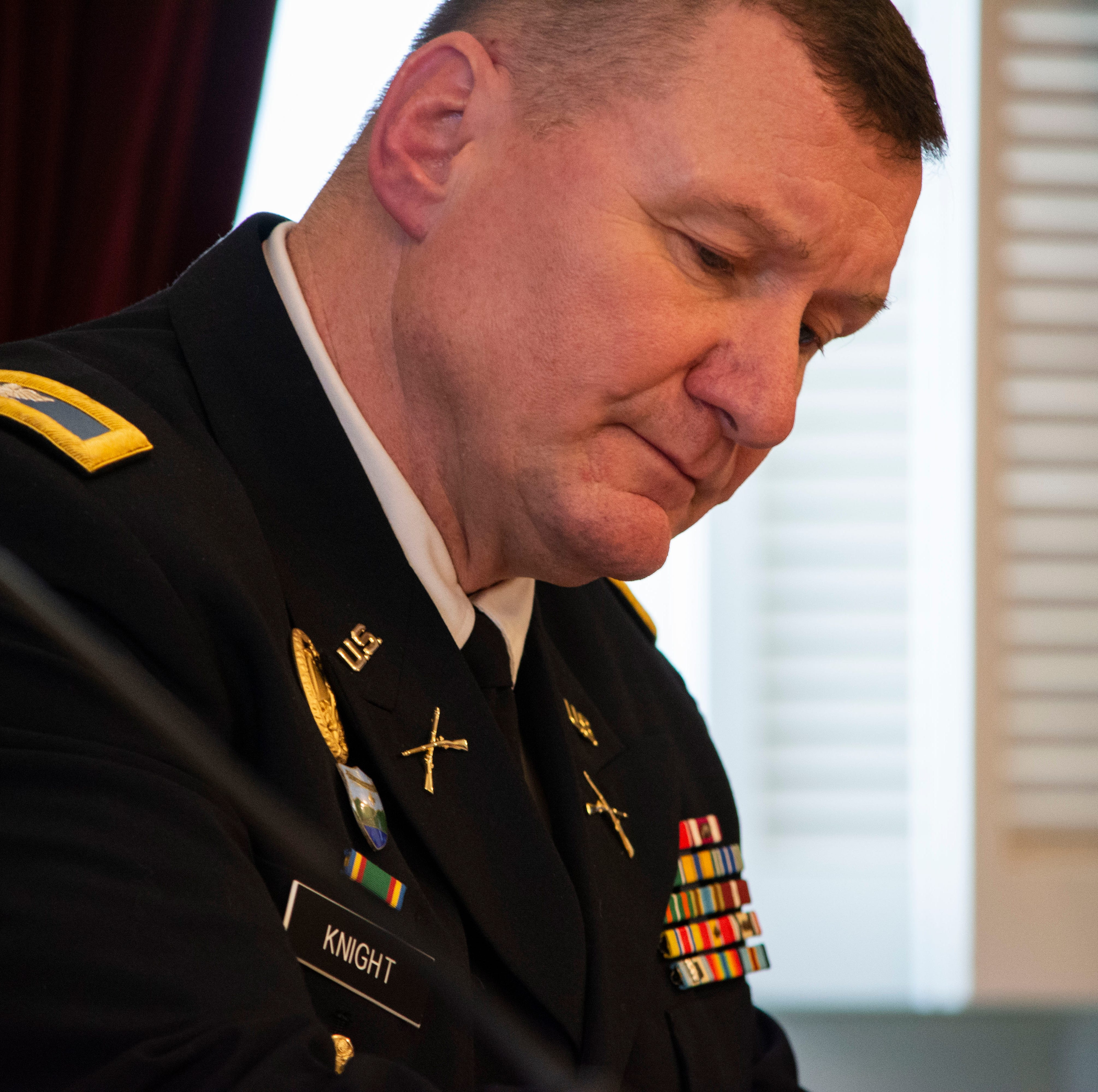 Col. Greg Knight chosen as the Vermont National Guard's next leader