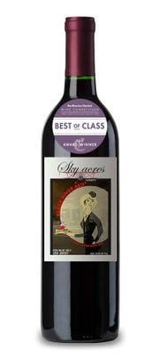 Sky Acres Winery's Black River Red wine won Best in Class in the Best in Class award in the Red Blend: Red Native/Hybrid category in the 2019 San Francisco Chronicle Wine Competition.