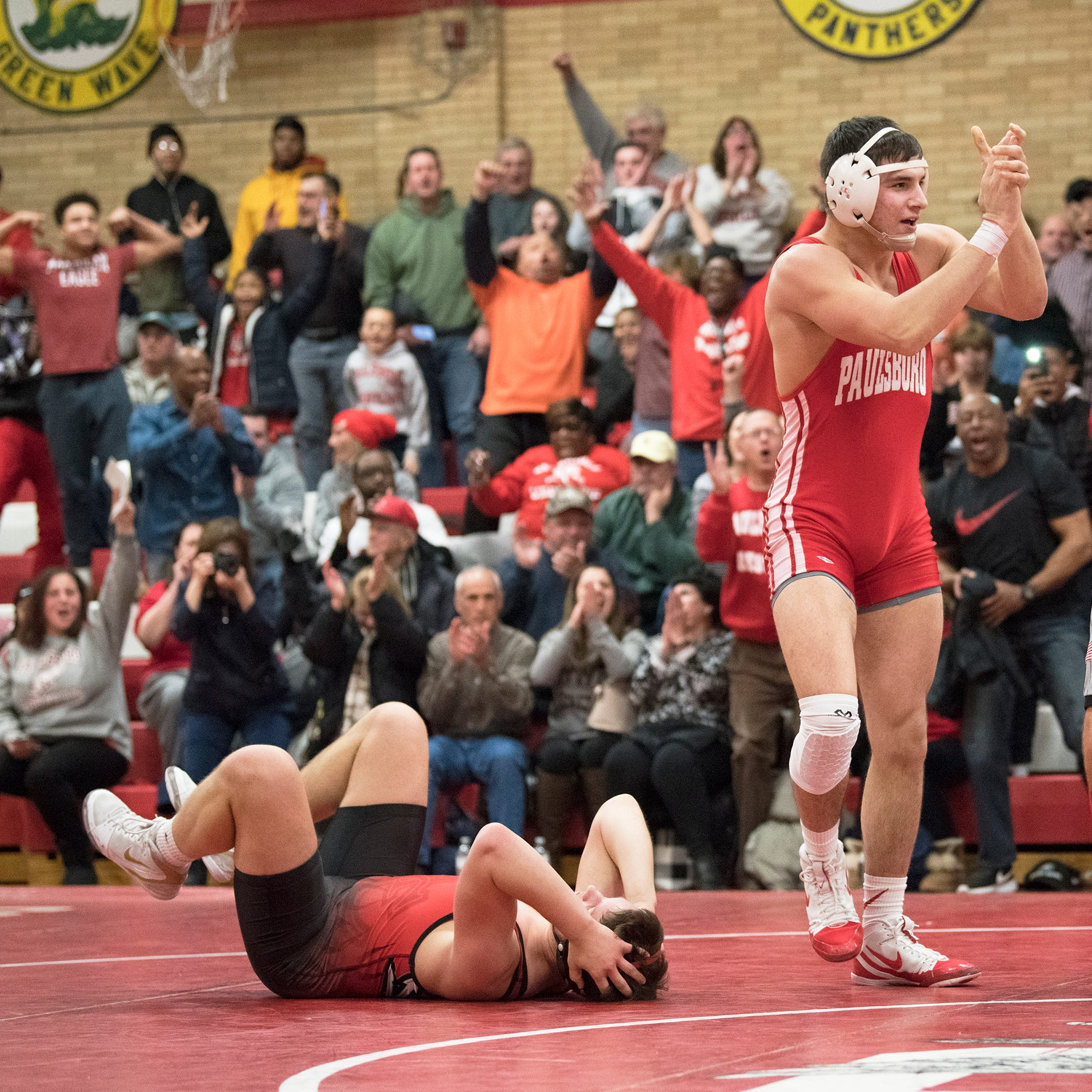 Paulsboro goes wire to wire as No. 1 wrestling team