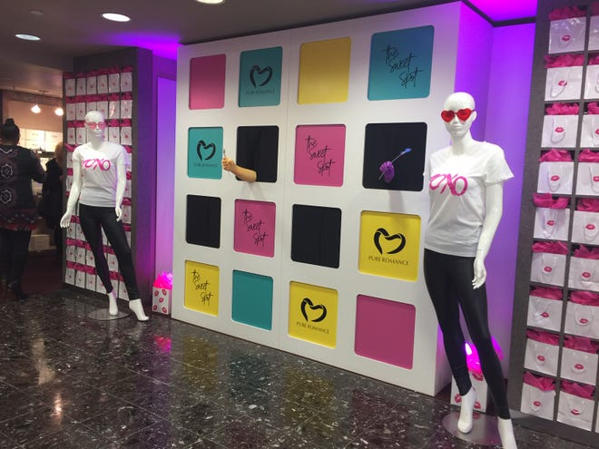 Pure Romance has opened a pop-up shop just in time for Valentine's Day.