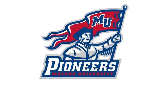 Malone football logo