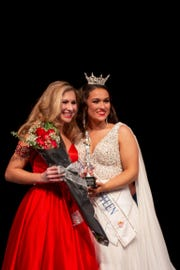 Angelica Disanza, 15, of Tewksbury, won the second runner up in the New Jersey Outstanding Teen Pageant.