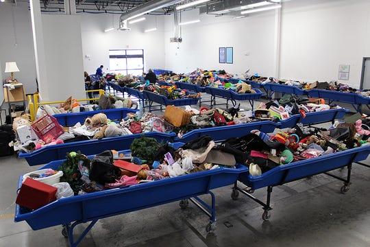 The Outlet Goodwill store in Johnston sells items at $1.29 per pound. The grand opening is on Saturday, Feb. 2.