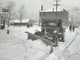 From 1942: One of two trucks and six diesel-powered tractors used by the city of Des Moines to clear snow from East 30th Street south of the Iowa State Fairgrounds en route to Laurel Hill cemetery.