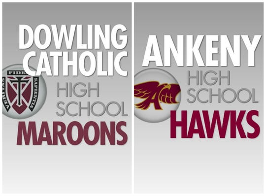 Dowling Catholic and Ankeny.