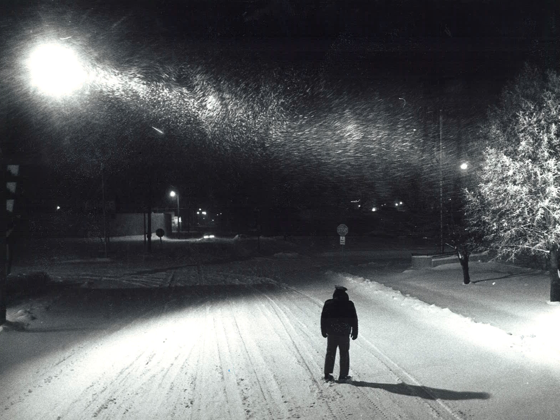 From 1979: When Indianola police officer Bob Gebhart stepped out in the weather at 2 a.m. on a mid-January 1979 night he could tell it would be a bad storm. Reports days after say he was right.