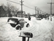From 1947: This traffic tieup on East 14th Street, south of Shawnee Avenue, was typical of many scenes throughout the state. Reports called this snowstorm the worst in five years.
