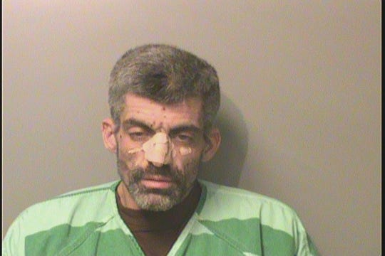 An updated mugshot of Justin Todd Ware, who is accused in multiple Des Moines-area robberies.