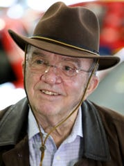 Jack Roush, owner of a NASCAR team and other businesses in his race car museum that is open to the public at his office complex in Livonia, Michigan, on Wednesday, Jan. 30, 2019.    .