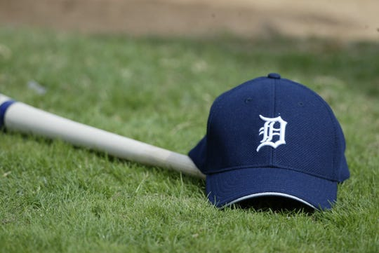 Detroit Tigers hat worn during spring training in 2003.