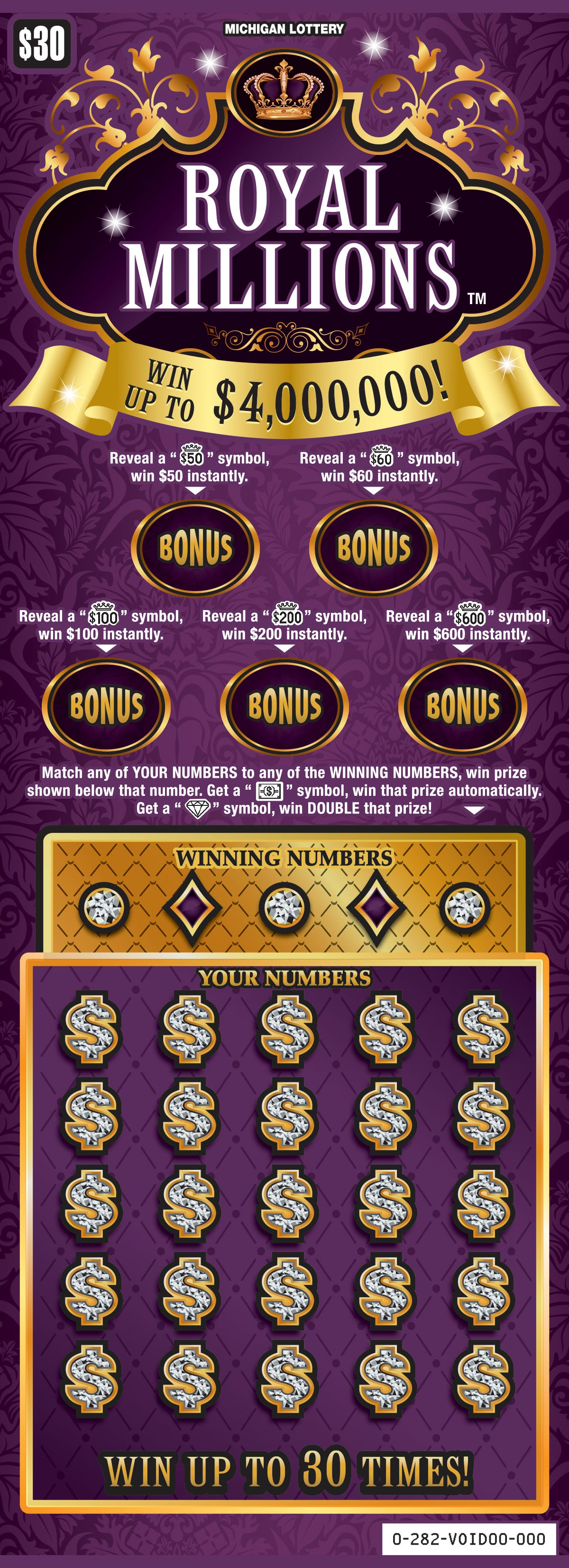 Michigan Lottery: What to know about 3 new instant games