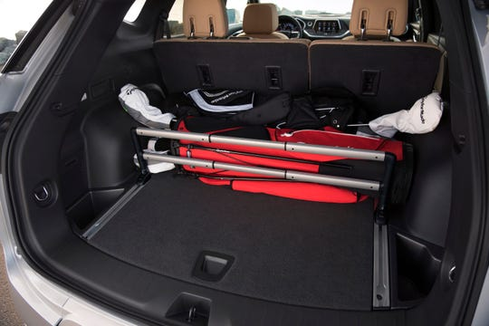 The 2019 Chevrolet Blazer has a roomy cargo compartment, and accessories to holds gear in place.