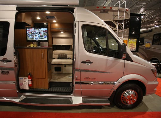 You'll find 350 RVs on display at the Detroit RV & Camping Show in Novi.