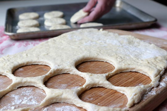 Homemade biscuits. (Hillary Levin/St. Louis Post-Dispatch/TNS)