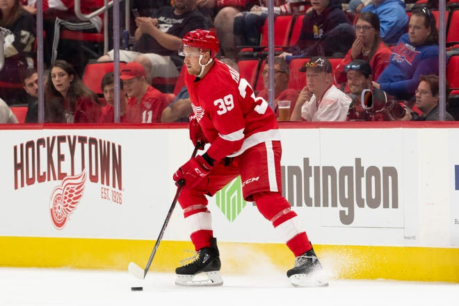 """""""You feel refreshed,"""" forward Anthony Mantha said of the week off, and getting back into hockey mode. """"If you had any small injuries you get rid of them during the break. It was perfect."""""""