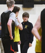 """Ann Lowney: """"I think the boys like to probably scrimmage more and the girls you tend to do drills more."""""""