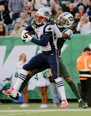 Stephon Gilmore's assumed the role of lockdown cornerback for New England as it prepares to face two of the NFL's top two receivers in its Super Bowl matchup with the Los Angeles Rams.