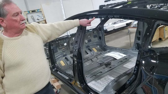Sandy Munro of Munro & Associates in Auburn Hills tore apart a Tesla Model 3 to see how it was built.