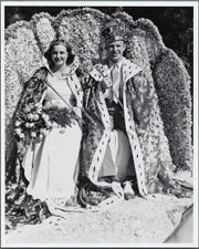 The king and queen of the 1939 Edison  Pageant of Light