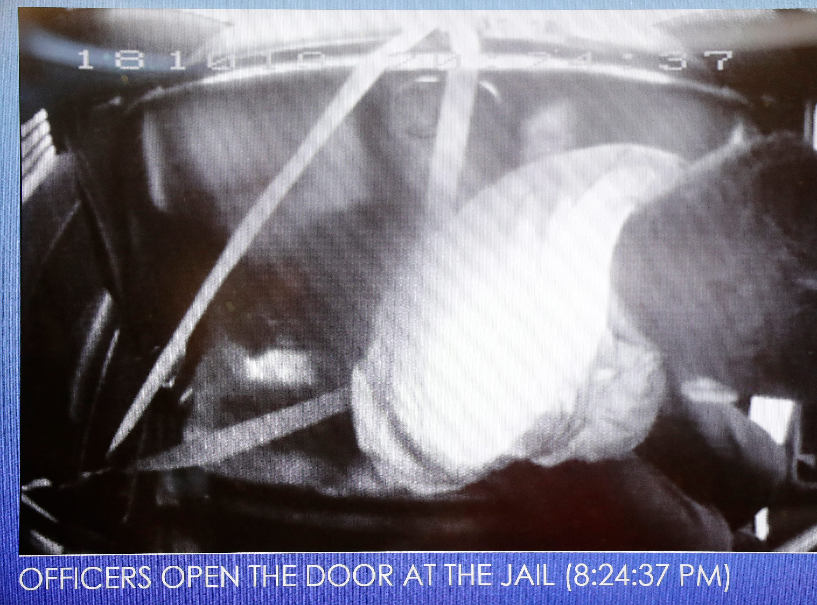 A Green Bay Police photo of  Jonathon Tubby the night he was fatally shot by police in October.