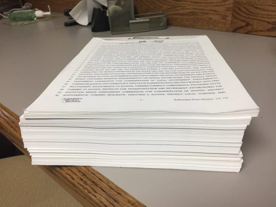 House Bill 300, working its way through the Legislature, is 426 pages.