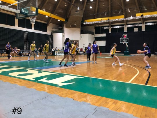 Fuesta Basketball Club romped over the University of Guam Tridents 76-40 in the Trident Women's Basketball League at the UOG Calvo Field House Jan. 31.