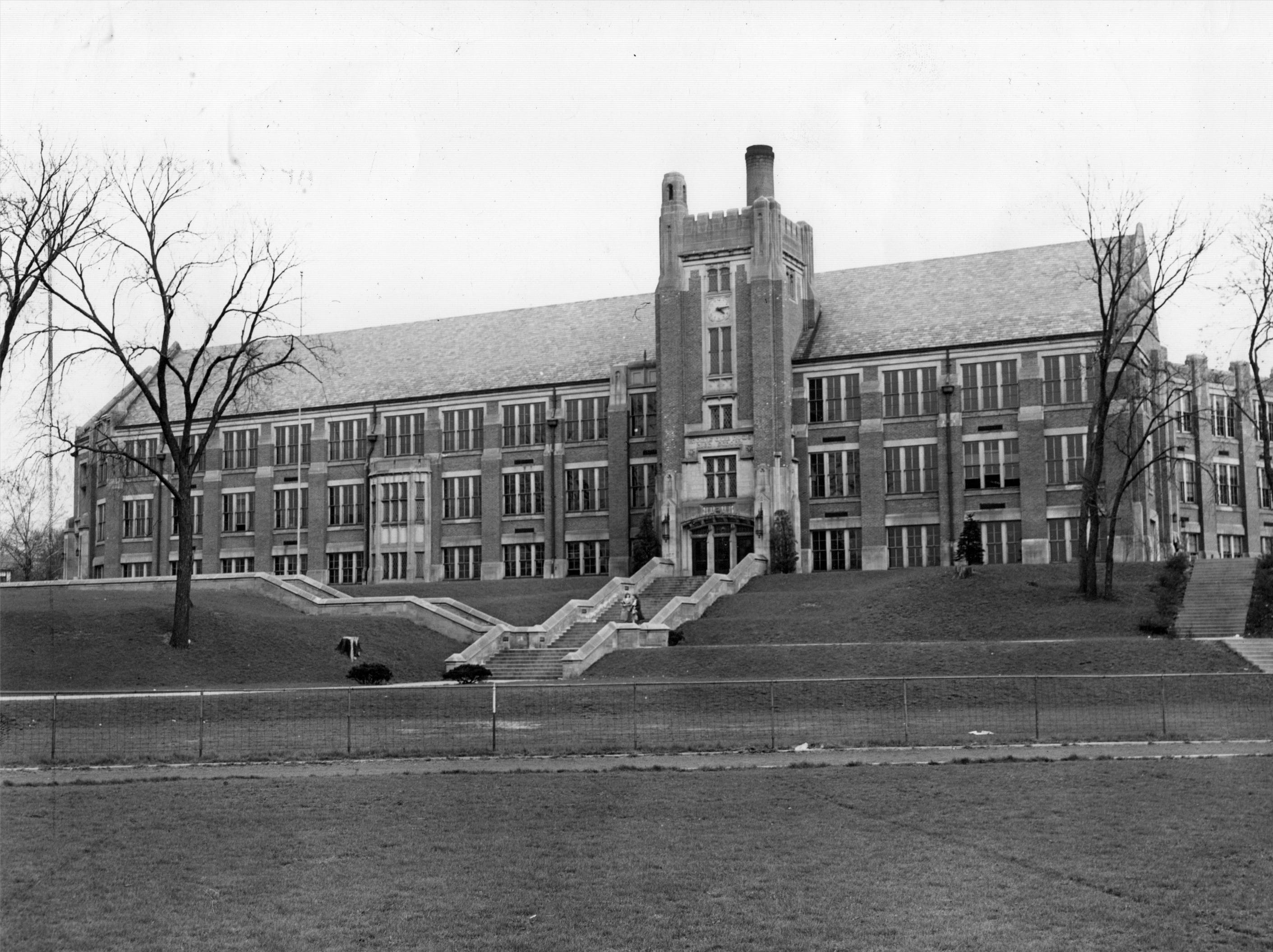 This 1948 photo of Thomas Carr Howe High School was at the time the city's newest high school with more than 1,300 students.