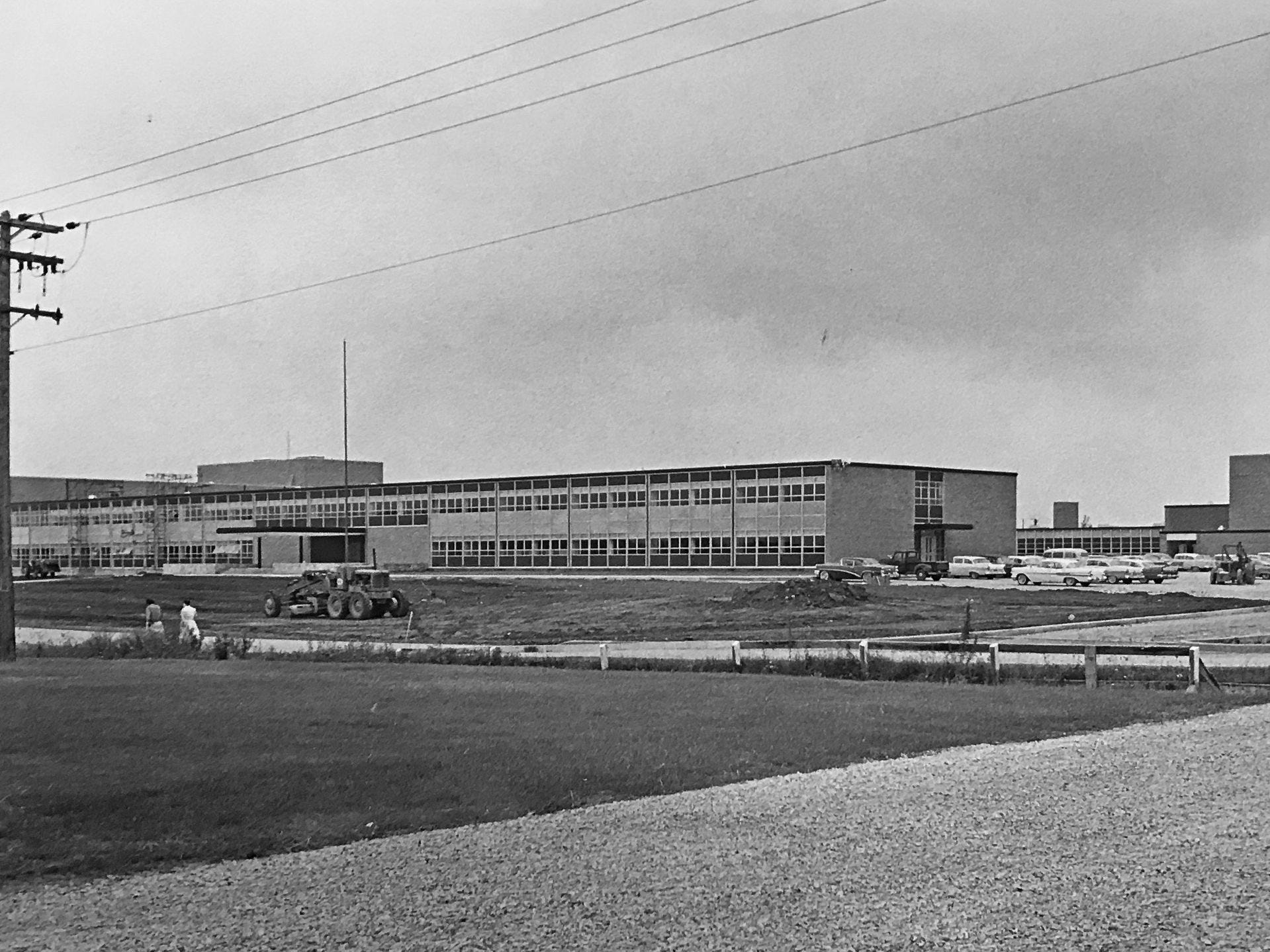 Arlington High School in 1961.