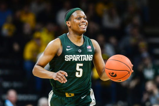 Michigan State Spartans guard Cassius Winston is one of the nation's best point guards.