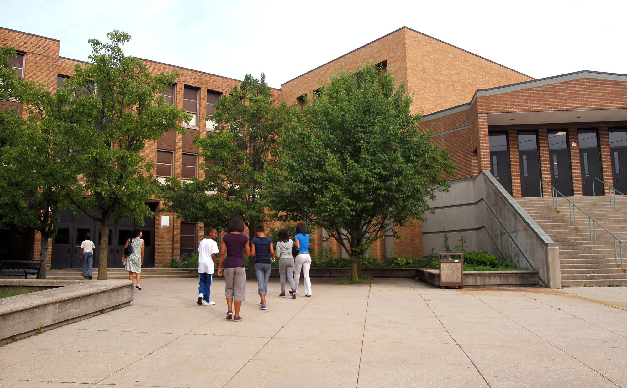 Broad Ripple High School, shown in a file photo, has closed.