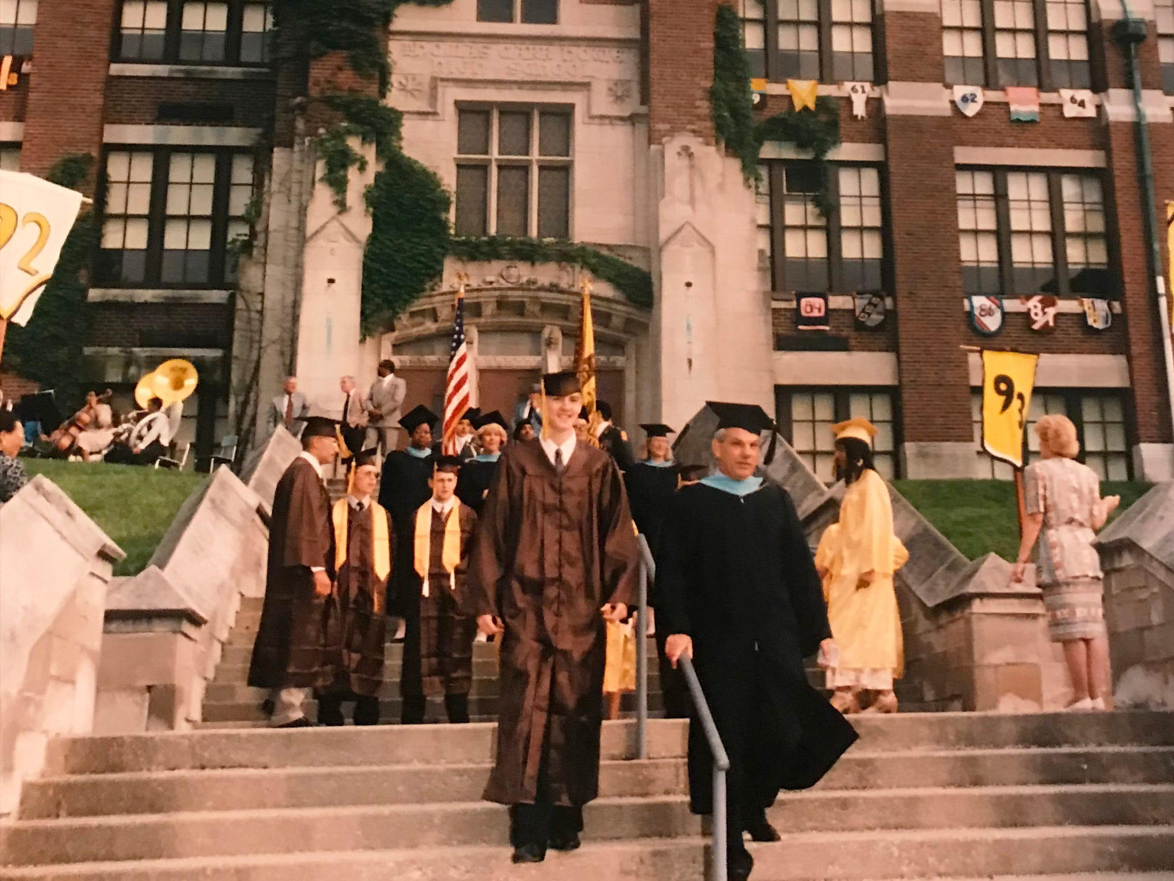 """Final"" graduation day at Thomas Car Howe High School in 1995 was a moment frozen in time. Howe reopened in 2000."
