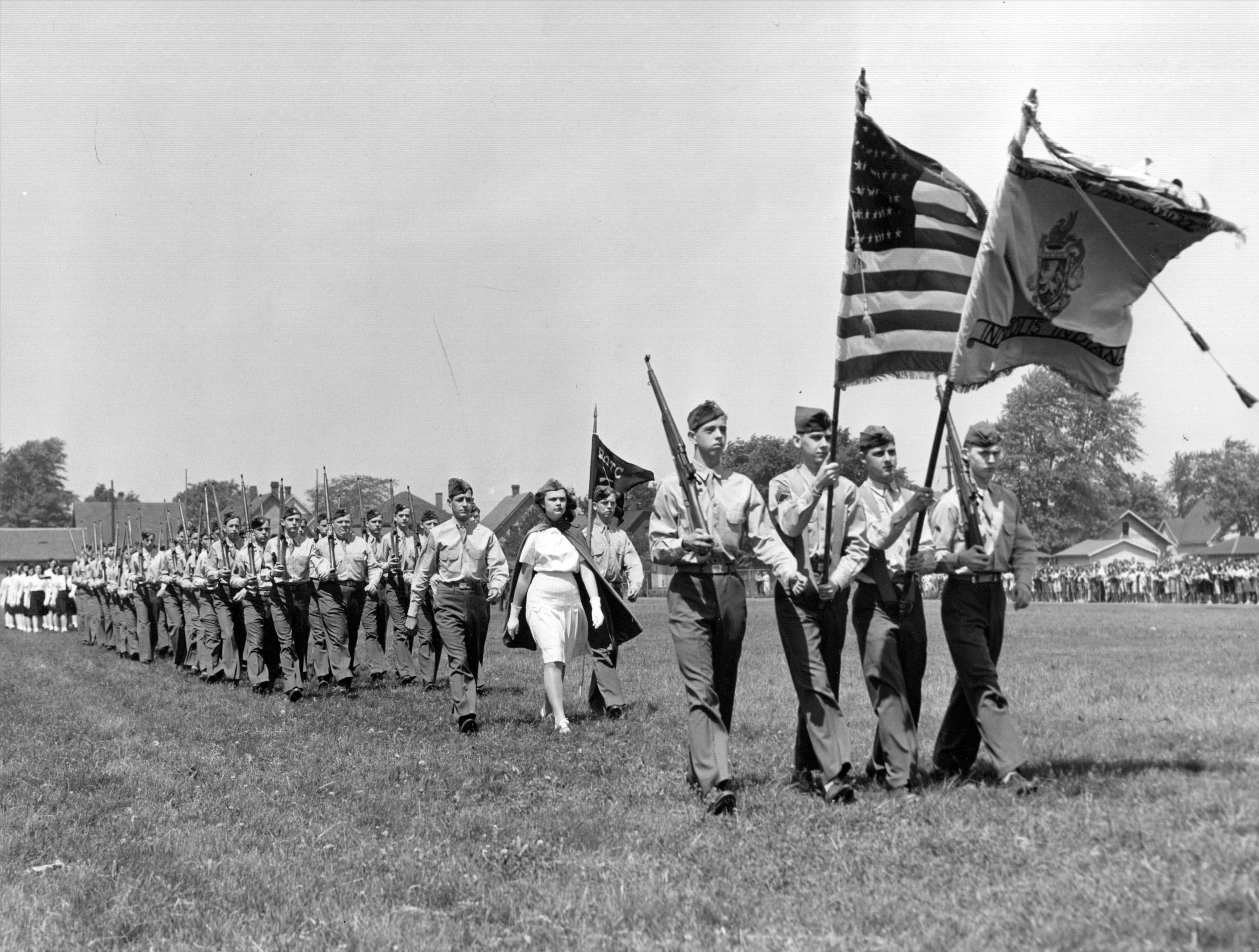 Washington High School ROTC in 1946