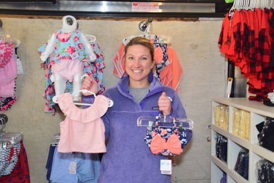 Allie Ladd was the breakout vendor during the Community Winter Bazaar held at Karns High School Saturday, Jan. 26 with her mobile children's clothing boutique in honor of her daughter Kennedy Ladd who lives with MPS1 Hurler Syndrome.
