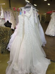 Plenty of wedding dresses are available on consignment at Southern Belle's Closet in Bearden.
