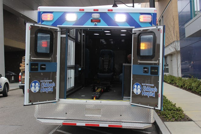 East Tennessee Children's Hospital unveiled its new Lifeline mobile ICU on Friday. Community donations helped pay for the unit.