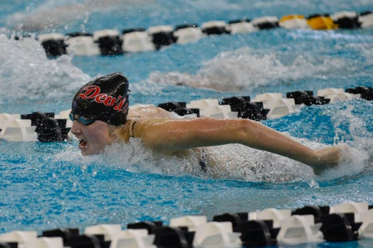 Maddie Sheiss is hoping to build off last year's state finals appearance, where she placed 22nd in the butterfly and was part of a 19th-place 200 free relay team.
