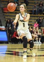 Scenes from Thursday's battle between the Purdue women and Nebraska. Karissa McLaughlin.