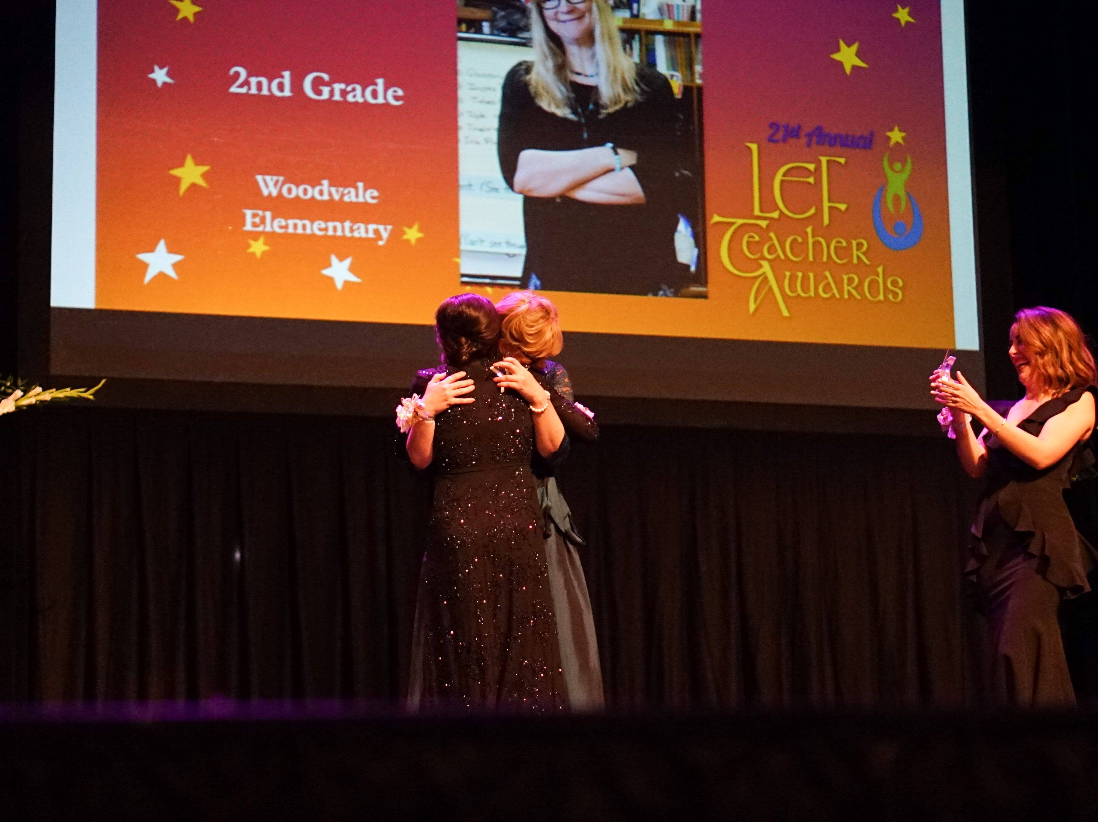 The Lafayette Education Foundation recognized the 2019 Teacher Award Top Finalists.