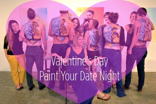 """""""Paint Your Date Night"""" is a great way to show some love this Valentine's Day"""
