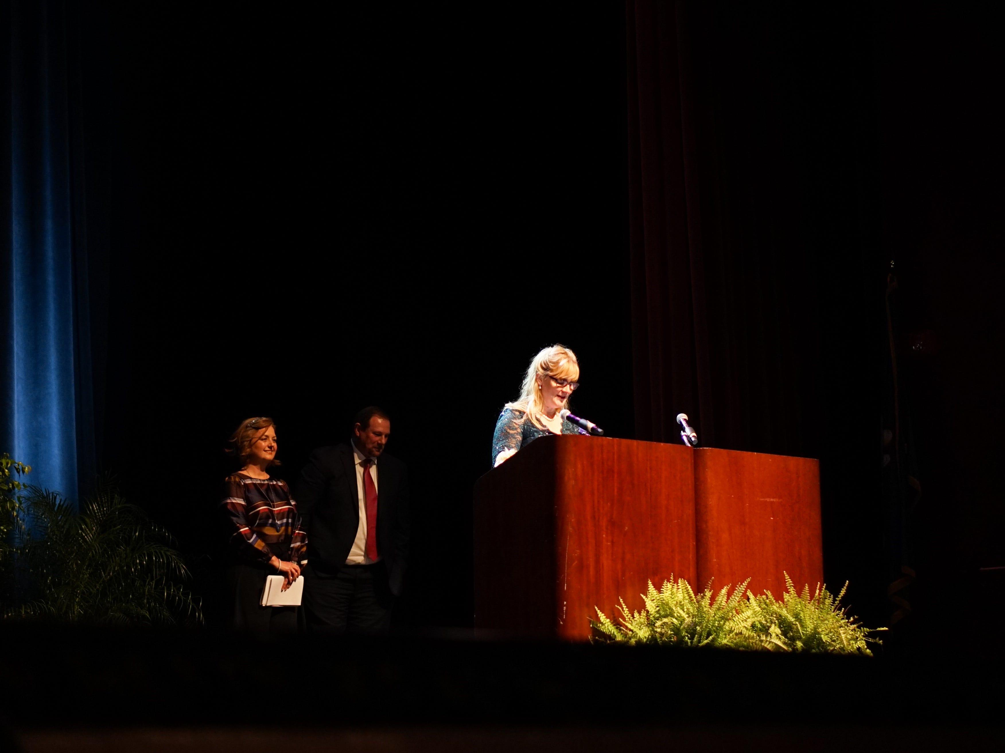 Elementary School Finalist, Christy Taylor.