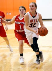 Amanda-Clearcreek senior Alyssa Evans was named the Division II District 11 Coaches Association Player of the Year.
