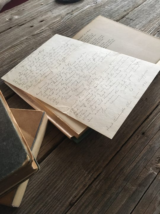 A woman in Oklahoma found a letter dated in June 1893  intended for the Lancaster Gazette.