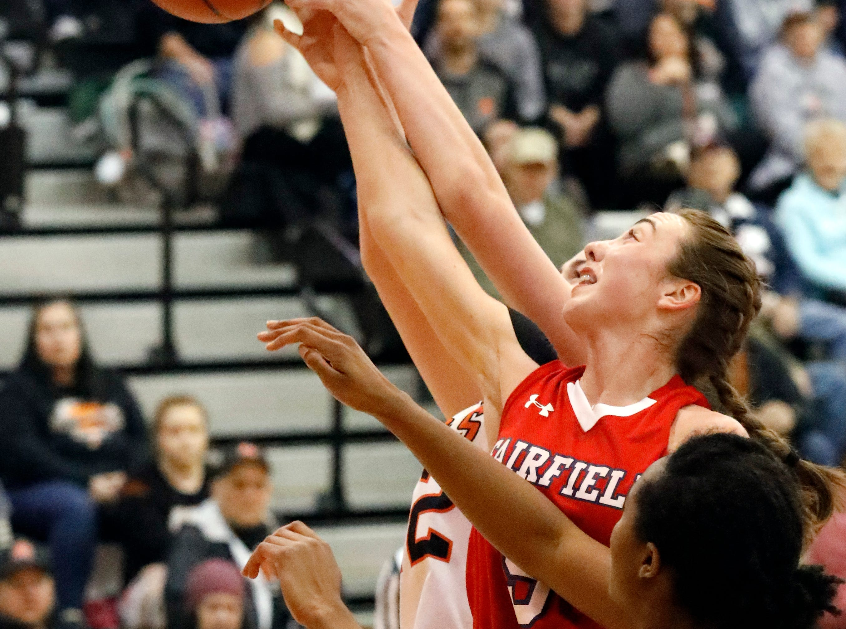 Amanda-Clearcreek defeated previously undefeated Fairfield Christian 51-43 Thursday night, Jan. 31, 2019, at Amanda-Clearcreek High School in Amanda.