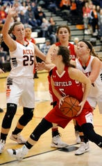 Fairfield Christian Academy senior Hope Custer was named Mid-State League-Cardinal Division Player of the Year.