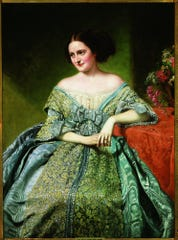 George Peter Alexander Healy, American, 1813-1894, Portrait of Sallie Ward (1827-1896), 1860, oil on canvas, Speed Art Museum, Gift of Mrs. John W. Hunt and Mrs. Ruth Hunt Hillson, 1939.