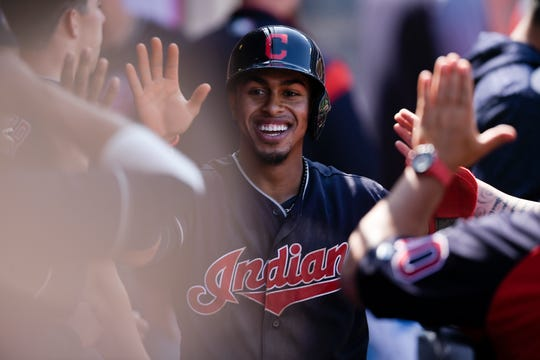 Francisco Lindor has not been impacted by Cleveland's austerity movement. The Indians' all-star shortstop, with the million-watt smile, will see his salary spike from $643,200 last season to $10.55 million this season.