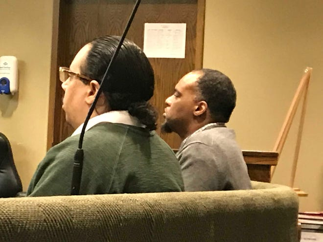 Anthony Olivo, left, was convicted Friday of first-degree murder in the 2015 shooting death of Susan McDonald. McDonald, 55, was killed in the driveway of a friend's home in Cordova. Andre Bowen, right, was convicted of facilitation of murder.