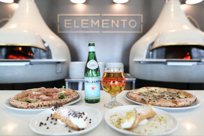 Elemento Neapolitan Pizza will be serving up a no-reservation Valentine's Day deal of two pizzas and two cannoli for $25 at the restaurant inside of the Crosstown Concourse Thursday, Jan. 31, 2019.