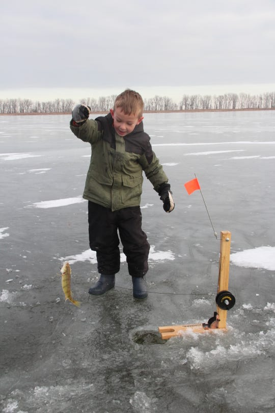 Free ice fishing clinics will be offered at five Milwaukee County park lagoons on Feb. 9.