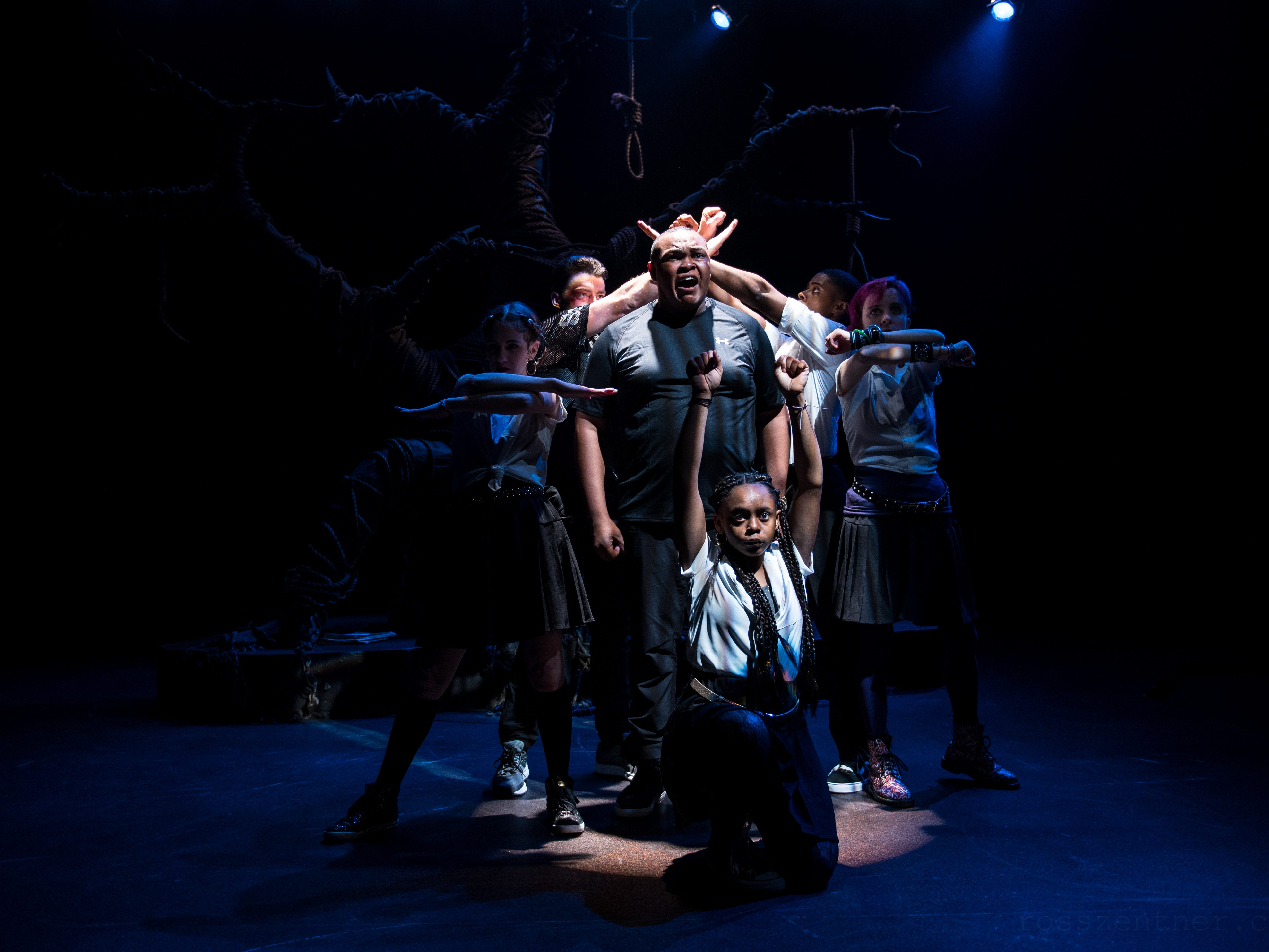 """Next Act Theatre performs 'Blood at the Root"""" through Feb. 24 at 255 S. Water St."""